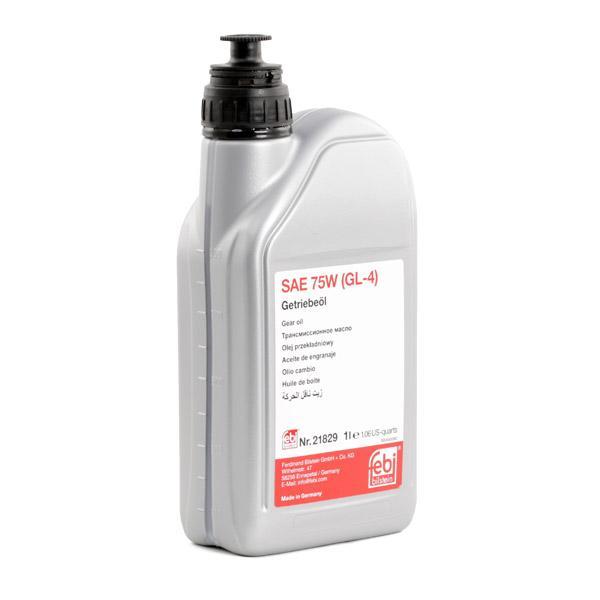 21829 Трансмисионно масло за ръчна трансмисия FEBI BILSTEIN - опит