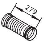 Wellrohr, Abgasanlage DINEX 51125 mit 30% Rabatt kaufen