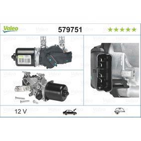 579751 VALEO für Linkslenker, ORIGINAL TEIL, vorne Wischermotor 579751 günstig kaufen