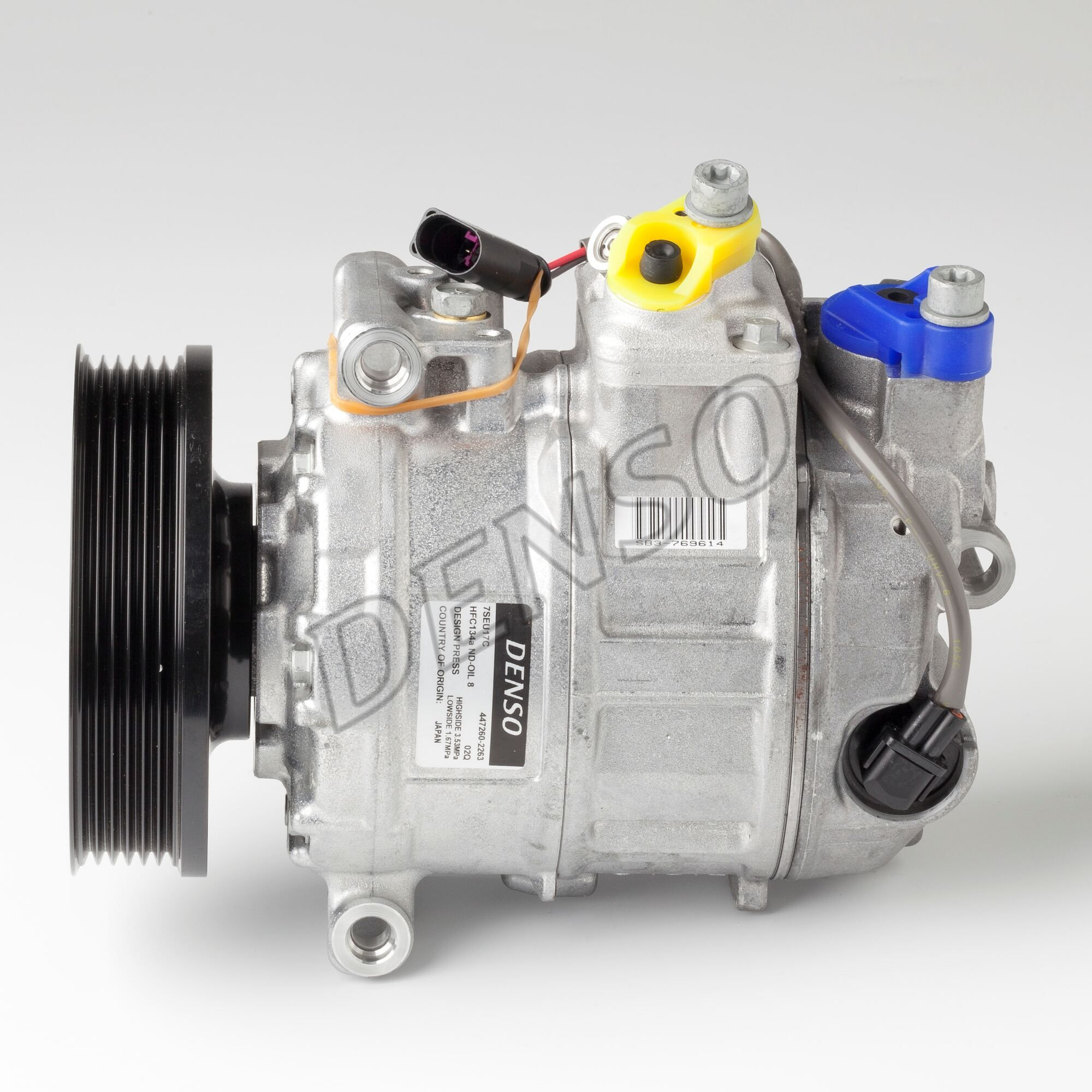 Original PORSCHE Kompressor Klimaanlage DCP28016