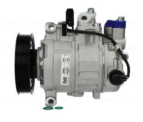 89052 NISSENS PAG 46, Kältemittel: R 134a Riemenscheiben-Ø: 100mm, Anzahl der Rillen: 6 Klimakompressor 89052 günstig kaufen