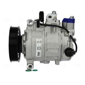 89052 NISSENS PAG 46, Kältemittel: R 134a Riemenscheiben-Ø: 100mm, Anzahl der Rillen: 6 Kompressor, Klimaanlage 89052 günstig kaufen