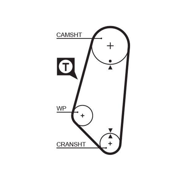 KP15400 Pompa acqua + Kit cinghie dentate GATES prodotti di marca a buon mercato