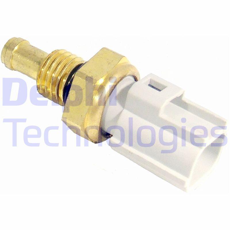DELPHI: Original Sensor Kühlmitteltemperatur TS10287 (SW: 19mm)