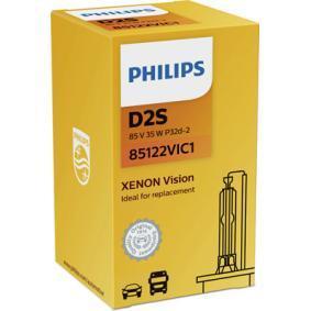 85122VIC1 Крушка с нагреваема жичка, фар за дълги светлини PHILIPS - опит