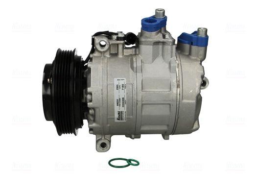 NISSENS: Original Klimakompressor 89231 (Riemenscheiben-Ø: 120mm, Anzahl der Rillen: 5)