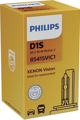 85415VIC1 Крушка с нагреваема жичка, фар за дълги светлини PHILIPS - опит
