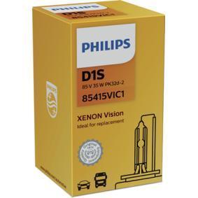 85415VIC1 Glödlampa, fjärrstrålkastare PHILIPS - Upplev rabatterade priser