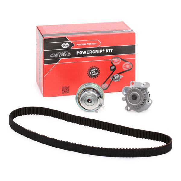 Volkswagen NEW BEETLE 2003 Belts, chains, rollers GATES KP15489XS-2: with water pump, BOOST™ CVT Belt