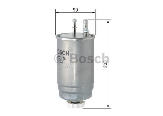 F026402076 Горивен филтър BOSCH - на по-ниски цени