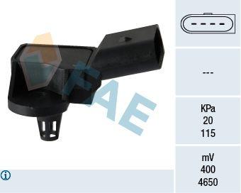 OE Original Sensor, Saugrohrdruck 15090 FAE