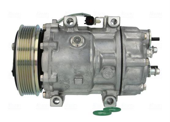 MAZDA CX-3 Kompressor - Original NISSENS 89143 Riemenscheiben-Ø: 119mm, Anzahl der Rillen: 6