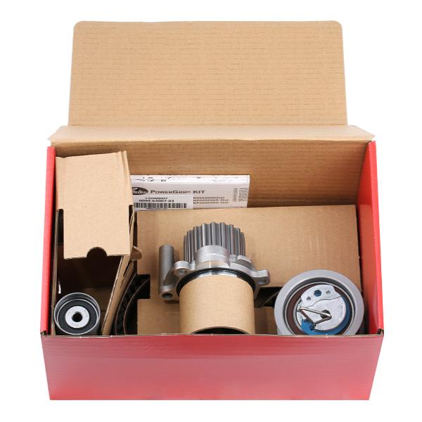 KP55569XS-2 Timing belt kit with water pump GATES - Experience and discount prices