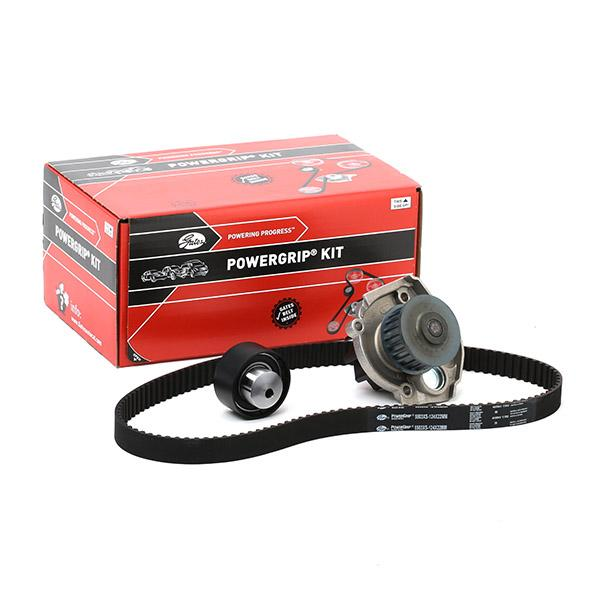 ALFA ROMEO GIULIETTA 2017 replacement parts: Water pump and timing belt kit GATES KP15503XS-2 at a discount — buy now!