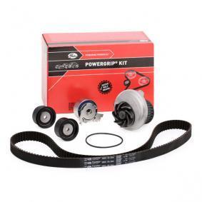 T43040 GATES mit Wasserpumpe, Micro-V® Stretch Fit® Wasserpumpe + Zahnriemensatz KP15408XS günstig kaufen