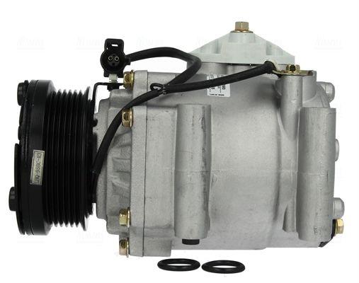 NISSENS: Original Kompressor Klimaanlage 89071 (Riemenscheiben-Ø: 95mm, Anzahl der Rillen: 6)