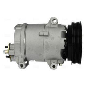 89072 Kompressor, Klimaanlage NISSENS in Original Qualität