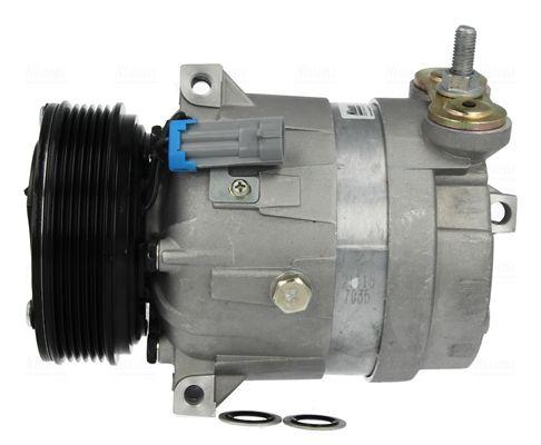 NISSENS: Original Klimakompressor 89057 (Riemenscheiben-Ø: 120mm, Anzahl der Rillen: 6)