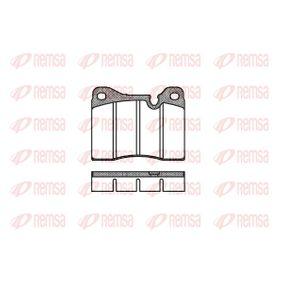 D827075 REMSA Vorderachse, für Verschleißwarnanzeiger vorbereitet Höhe: 70,5mm, Dicke/Stärke: 19mm Bremsbelagsatz, Scheibenbremse 0011.20 günstig kaufen