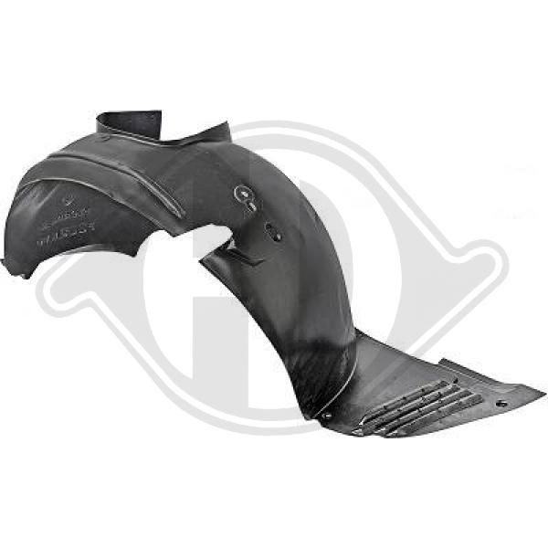 Buy original Panelling mudguard DIEDERICHS 4234109