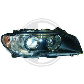 1215281 DIEDERICHS Priority Parts Vänster, H7/H7 Fordonsutrustning: för fordon med lysviddsreglering Huvudstrålkastare 1215281 köp lågt pris