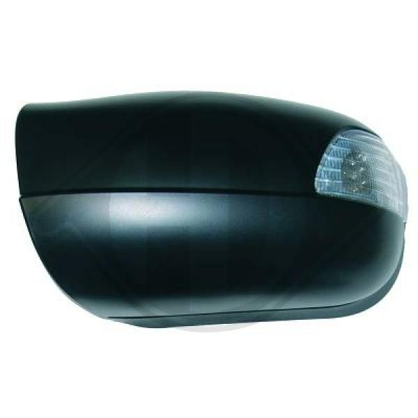 Mercedes E-Class 2018 Side mirror covers DIEDERICHS 1614227: Left, Primed, with indicator