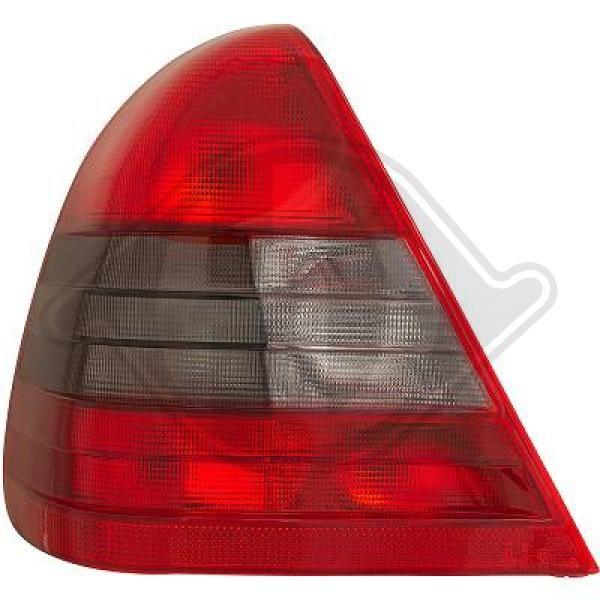1670093 DIEDERICHS links, ohne Lampenträger, mit Reflektor Lichtscheibe, Heckleuchte 1670093 günstig kaufen