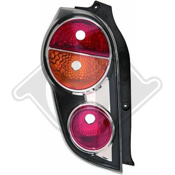 Buy original Rear tail light DIEDERICHS 6932091