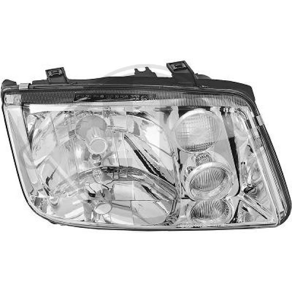 Buy Front lights DIEDERICHS 2231982 Vehicle Equipment: for vehicles with headlamp levelling