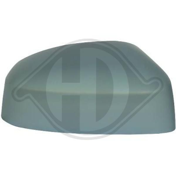 Ford MONDEO 2014 Cover, outside mirror DIEDERICHS 1418028: Right, Primed