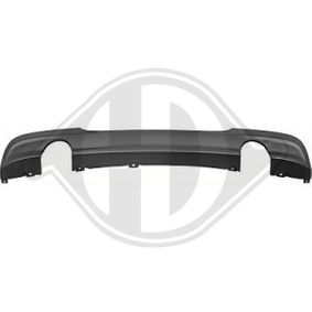Heckansatz Heckspoiler Diffusor für BMW E90 Limousine für M-Paket