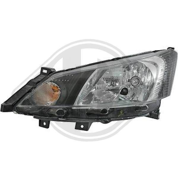 Stellmotor Leuchtweitenregulierung DIEDERICHS 6053086