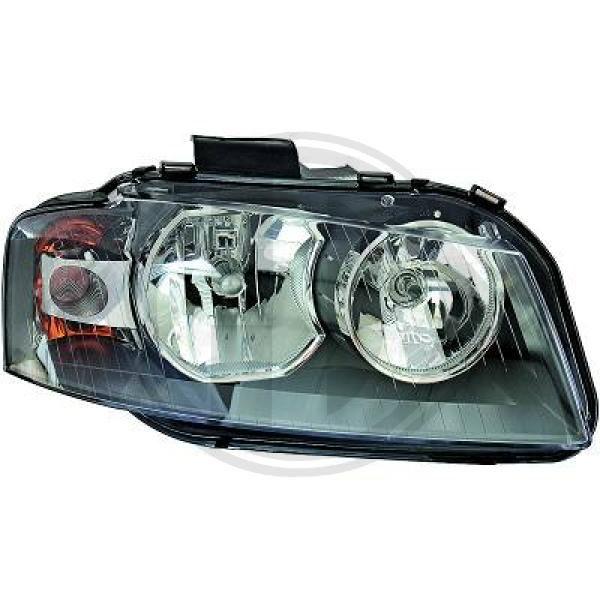 DIEDERICHS: Original Frontscheinwerfer 1031981 (Fahrzeugausstattung: für Fahrzeuge mit Leuchtweiteregelung)