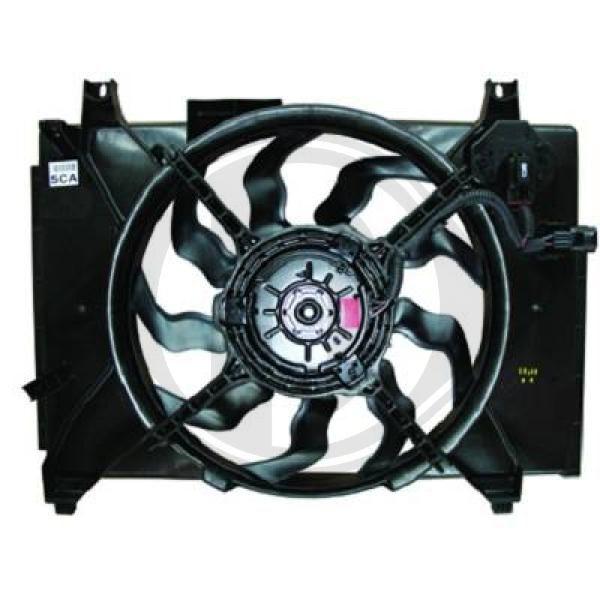 Lüfter Klimaanlage DIEDERICHS 8683308