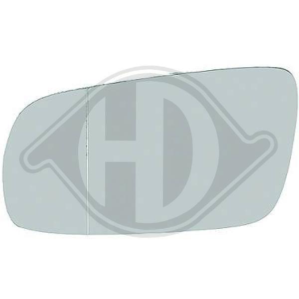 Original SEAT Rückspiegelglas 2213029