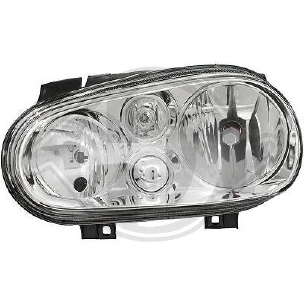 DIEDERICHS: Original Scheinwerfer 2213089 (Links-/Rechtsverkehr: für Rechtsverkehr, Fahrzeugausstattung: für Fahrzeuge mit Leuchtweiteregelung (elektrisch))
