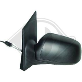 1416024 DIEDERICHS à direita, granulado, convexo, para regulação manual do espelho Retrovisor exterior 1416024 comprar económica