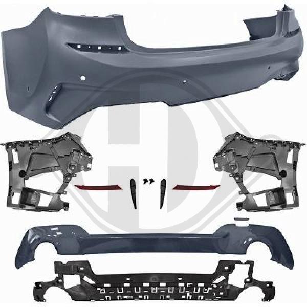 E90 E91 VFL LCI DIEDERICHS 1216989 - Tagfahrleuchtensatz - HD Tuning