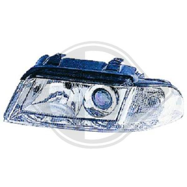 DIEDERICHS: Original Scheinwerfer Set 1016183 (Fahrzeugausstattung: für Fahrzeuge mit Leuchtweiteregelung)
