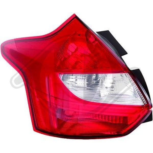 1418290 DIEDERICHS Right, without lamp base Combination Rearlight 1418290 cheap