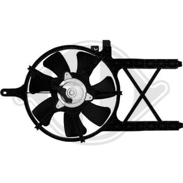 OE Original Lüfter, Klimakondensator 8608306 DIEDERICHS