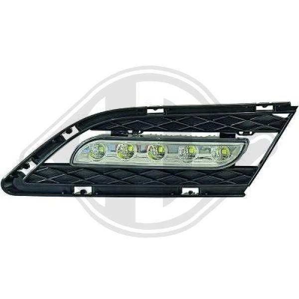 Pirkti 1216889 DIEDERICHS HD Tuning su integruotomis grotelėmis Dienos metu naudojamų šviesų komplektas 1216889 nebrangu