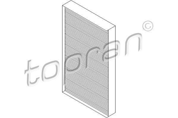 TOPRAN Филтър, въздух за вътрешно пространство 407 735