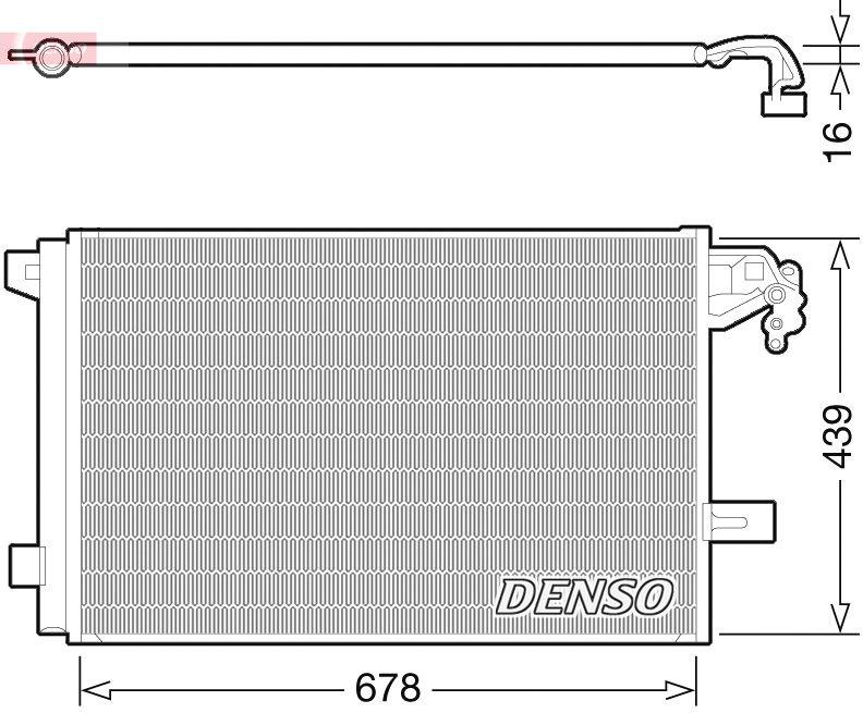 Kondensator, Klimaanlage DENSO DCN32063 Bewertungen
