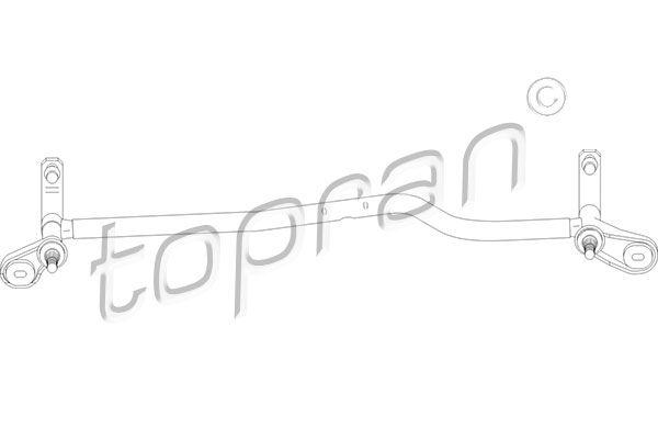 Scheibenwischergestänge TOPRAN 110 697