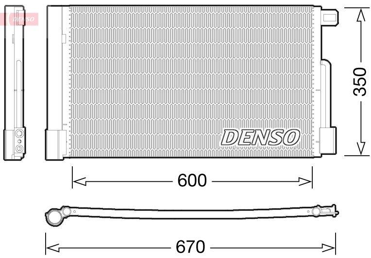 OE Original Klimakühler DCN01004 DENSO