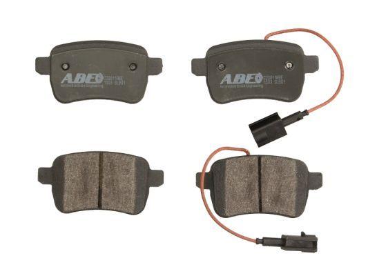 DODGE DART 2020 Bremsbelagsatz - Original ABE C2D011ABE Höhe: 48,5mm, Breite: 95,8mm, Dicke/Stärke: 17,7mm