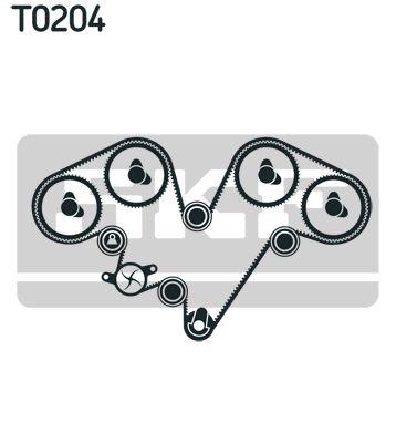 SKF | Wasserpumpe + Zahnriemensatz VKMC 03902-2