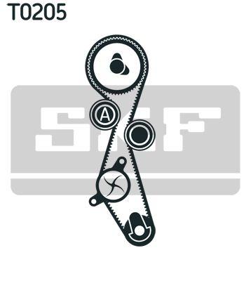 VKMC03305 Zahnriemen Kit + Wasserpumpe SKF VKMA03305 - Große Auswahl - stark reduziert