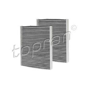 Filtro interior aire-Topran 109 044